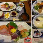 魚料理 一心 - 魚料理 一心(三重県鈴鹿市)で上刺身定食 食彩賓館撮影