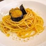 La liberta - 千両茄子とシラウオのスパゲッティ