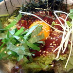 K+ - ピリ辛マグロ丼です