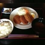 レオポン - コロッケ定食
