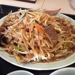 銀華飯店 - レバ野菜炒め