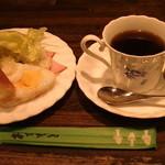 ロレックス - 料理写真:「モーニングセット」450円