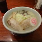 らーめん山頭火 - 塩らーめん ¥850