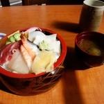 橘寿司支店 - ちらし寿司(シャリ大盛り)