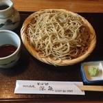 Sobadokoroshinsen - ざるそば大盛