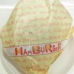 T's★Diner - 「ハンバーガー」と書かれた包み♪