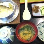松ばや - 鮎釜飯定食