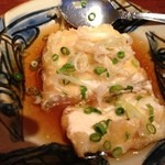 ぱいかじ - ジーマミー豆腐の揚げ出し