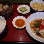 中国料理 兆楽 - スブタ定食