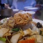 中国料理 兆楽 - おこげの部分