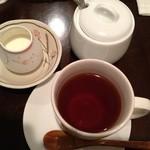 自然派カフェ 米野かりぃ堂 - オーガニック紅茶です♪あんまり違いがわからずすみません…