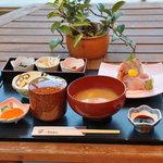 かまめし亭 - 地魚お刺身膳