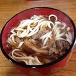 うどん処 太閤 - 料理写真:肉うどん