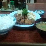 三好弥 - しょうが焼き定食(700円)