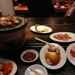 炭焼 ホルモン & 焼肉 浜幸 - ガツ,上ミノ,豚ミノを追加.