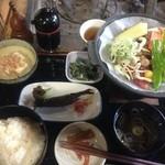 21861187 - 味噌陶板焼定食¥1575