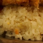 ニューモンブラン - ご飯は竹の子入りバターライス