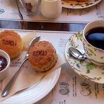 SAWAI COFFEE&TEA - スコーンセット 600円
