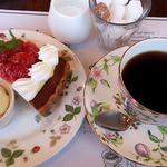 SAWAI COFFEE&TEA - ケーキセット 700円