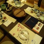 21865842 - 懐石料理のテーブル