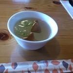レストランれむの巣 - 澄みきった味のスープ