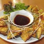 Korean Dining 彩 - 大人気のチヂミです!ぜひご賞味ください!