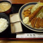 2187171 - とん汁定食 (竹) 1100円