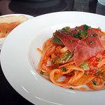 リモンチェロ - あぐりん村のお野菜を使ったトマトソースパスタ