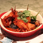 kazamidori - アドリア海ムール貝とヤリイカの煮込み