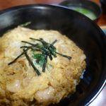 砂場 - 親子丼