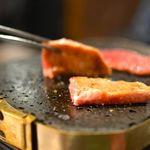 大井町銭場精肉店 - じゅわーっと甘い牛タンです。