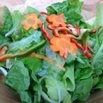 garden kuu CAFÉ - 手作りの野菜ももちろんですが、ドレッシングも絶品でした!
