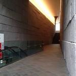 茶洒 金田中 - 奥の階段を登って行きます!