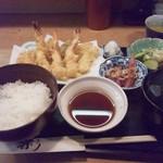 天ぷら丸中 - 天麩羅定食.jpg