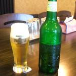 華麗なるカレー - ハートランド中瓶(550円)