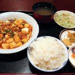麗人飯店 - 麻婆豆腐定食