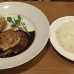 ココス - ☆フォアグラと牛フィレ肉のステーキ☆
