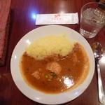 サモサ - 日替(かぼちゃ&チキン)¥500