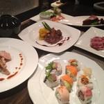 まんまる - 料理写真:コース料理 3500円