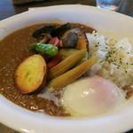 カフェ マリオ - 野菜ジンジャーカレー(野菜多め)