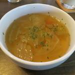 カフェ マリオ - ジンジャースープ