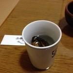 北浜大島屋 - ひれ酒