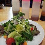 臼屋食堂 - 生野菜