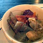 Cafe + zakka coque - 野菜とお揚げの五目煮