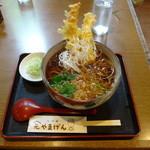 やまげん - 天ぷらそば850円