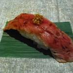 雅灯 - 鹿児島牛 炙り一口寿司