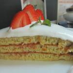 ブリッヂ - スノーホワイトパンケーキ カット