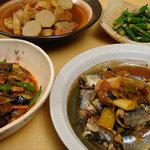 食楽酒家 朋 - 他にも色々な日替わり家庭料理があります。