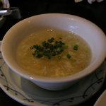 希須林 - きのこと干し貝柱のスープ
