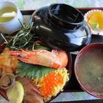 味政 - 海鮮丼 並 (1000円)